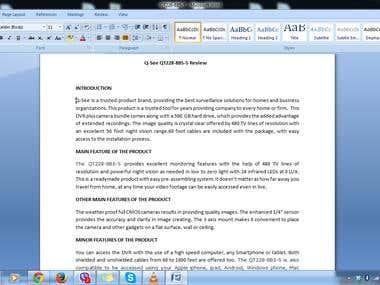 Academic & professional writer