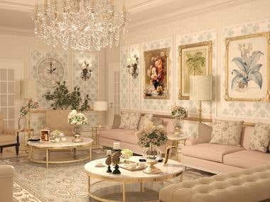 Interior design - new classic style