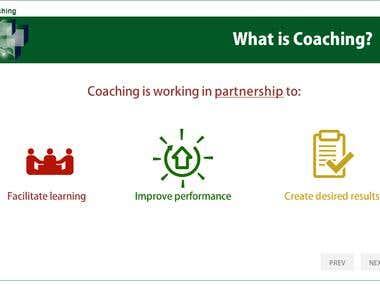 Coaching course