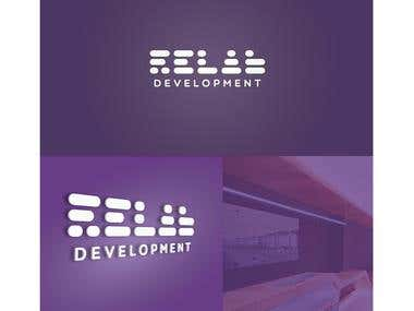 Logotipo Relab Development / Music agency.
