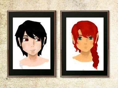 Personajes para animación 2D