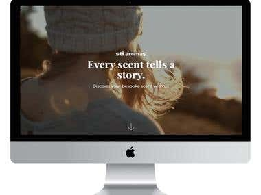 Aroma - Web Design