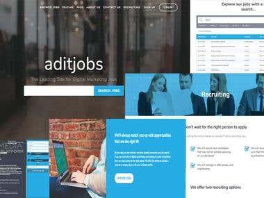 Job guiding site