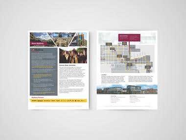 ASU SkySong Marketing Collateral Design