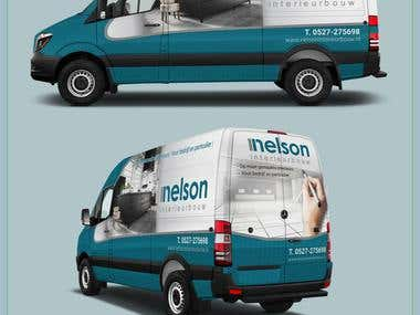 Mercedes Sprinter Wrap Design