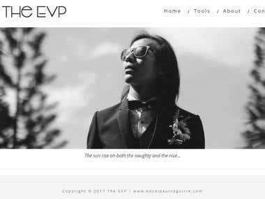 The EVP Website