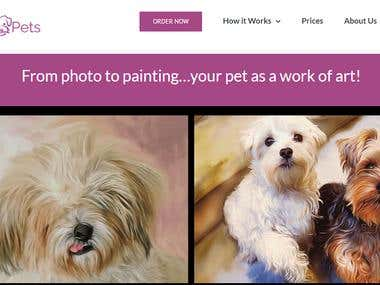 https://www.painted-pets.com