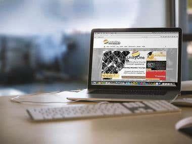 Website & Flyer - Music - UnityOne
