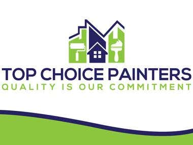 Top Choice Painters (Website for Painting Company)