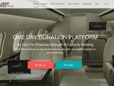 Ponzi scheme/website