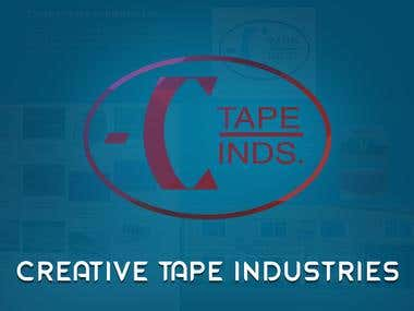INDUSTRIAL WEBSITE – CREATIVE TAPE