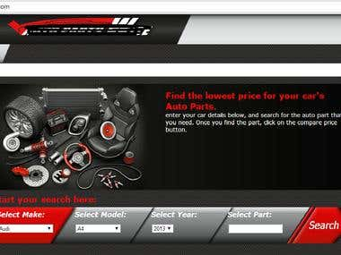 One of Auto part price compare-tor has been tested by me