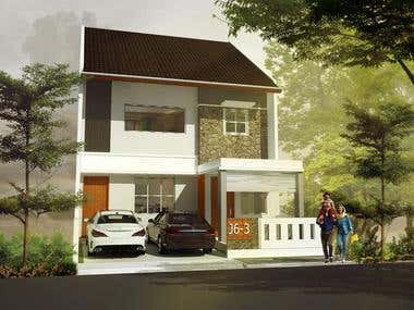 2 Storey Residential Structure