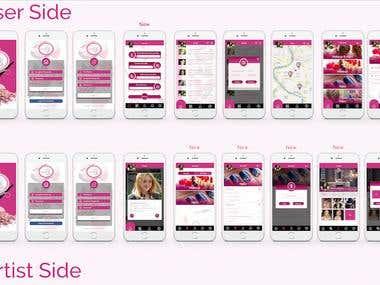 Elleziba (Personal Beauty Services App)