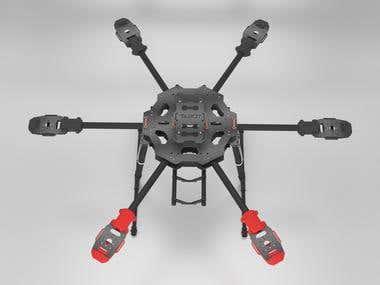 Frame drone