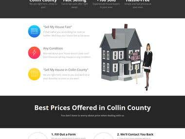 Sell You House AdWords Landing Page