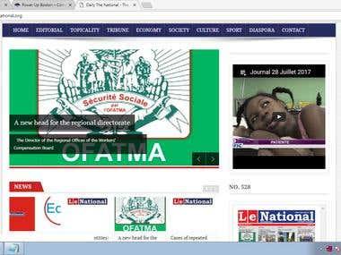 News Portal (http://www.lenational.org/)
