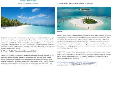 Maldives Guide For First Time Travellers: 16 Tips