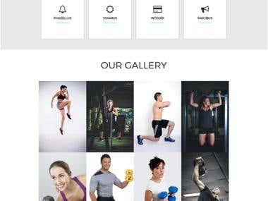 FintnessIn - Website