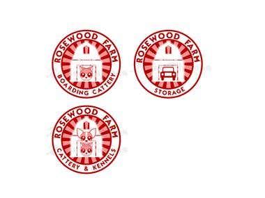 Rosewood logo design