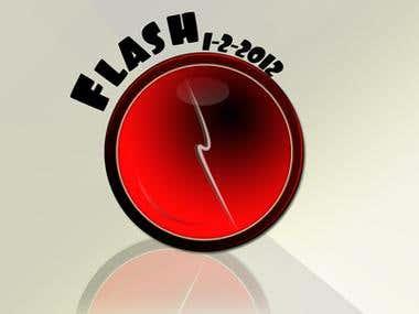 "It's logo for "" Flash "" Studio"