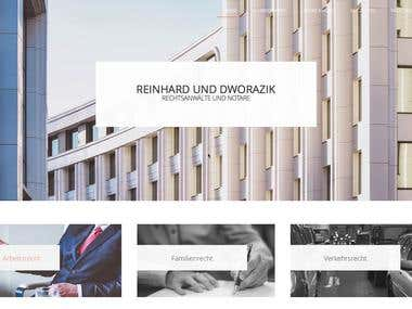 Website Redesign Law Firm Reinhard