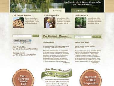 Pike Lumber Website