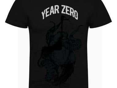 T- shirt / Year Zero