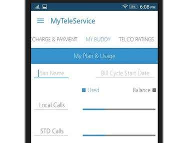 MyTeleService- Vodafone, Airtel & Idea India Mobile Plans