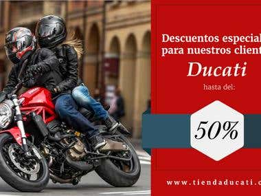 Ducati - Banners for website