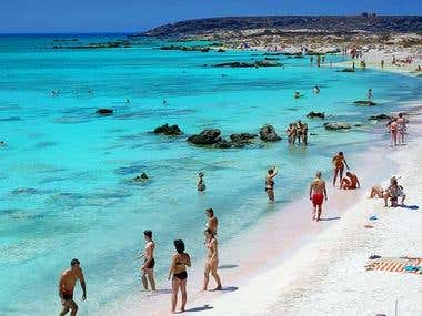 Elafonisi Beach – Far west of Crete, Greece