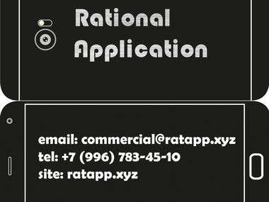 Visit Card for Rational Applications