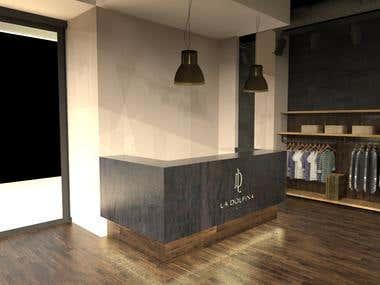 La dolfina Store design
