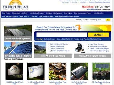 Silicon Solar Website