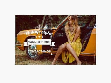 Design of Virtual Shop - Tanner Shoes