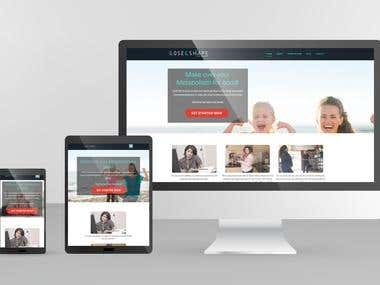 Shape Up Expert WordPress Website & Hosting