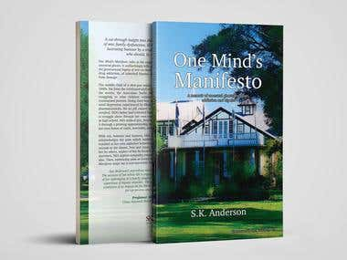 One Mind's Manifesto - book cover & typesetting
