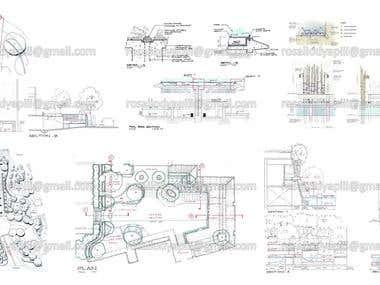 Landscape Schematic/Concept Sketches