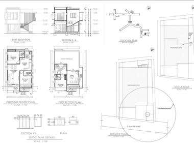 Architecture Plans and Working Drawings