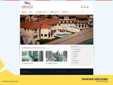 Fountain View Real Estate Website