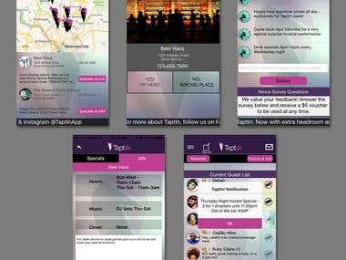 TapIn Mobile App