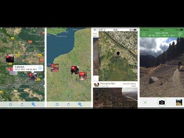 Map Photo App