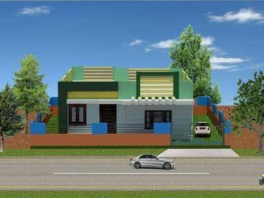 3d_Residence_model