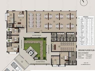 Floor Plans: Drawings and Rendering