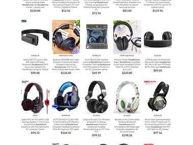 headphones-universe.com Online Store