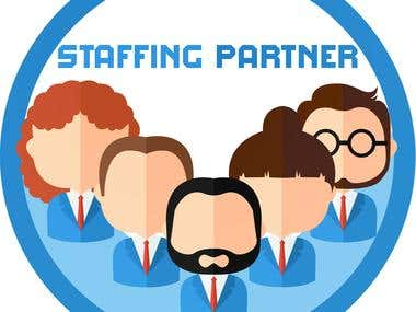 Logo for staffing partner