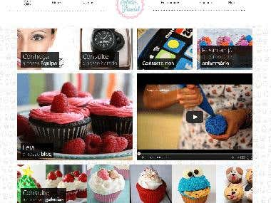 Cupcake shop Graphic Design