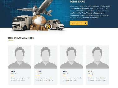 Shipping Agency Graphic Design