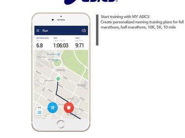 ASICS My Running App