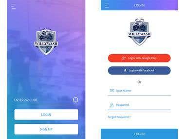 Mobile UI/Mobile Application Design